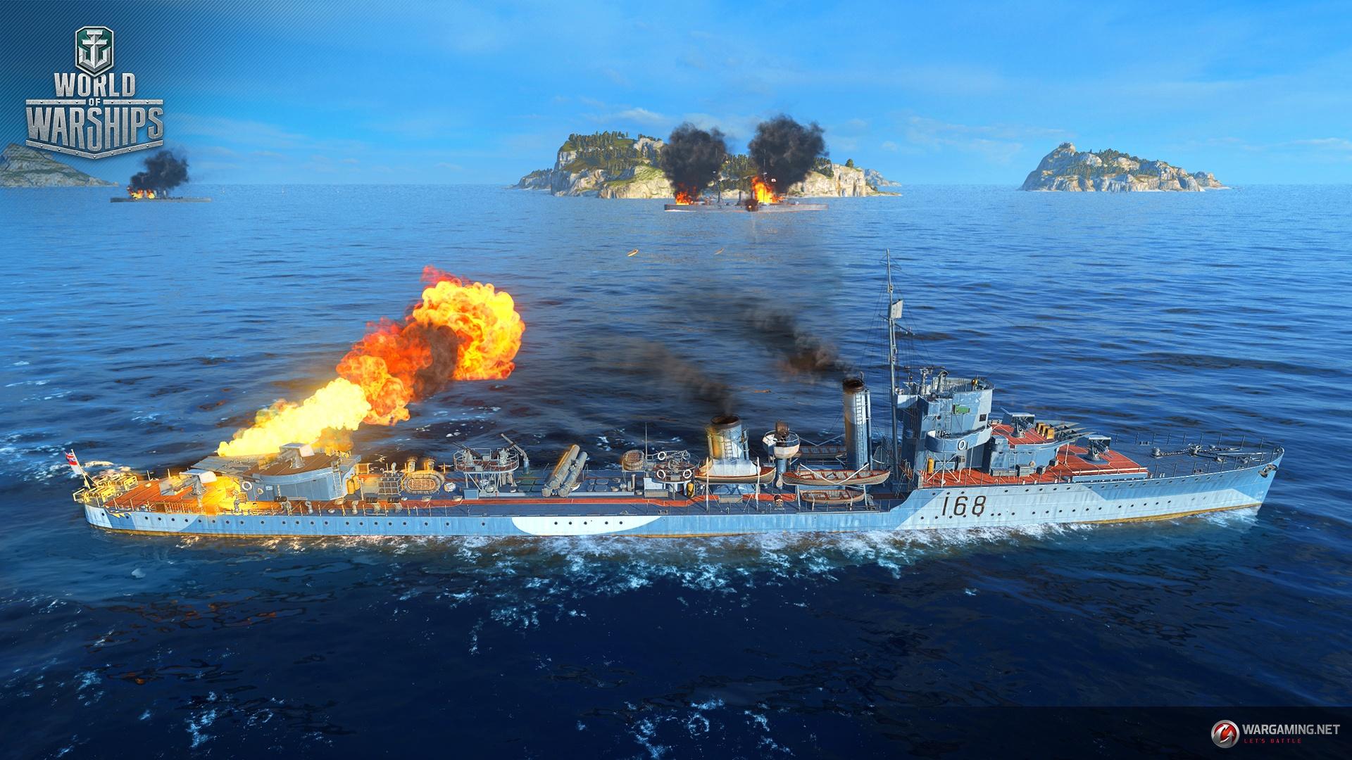 Image result for world of warships vampire fight