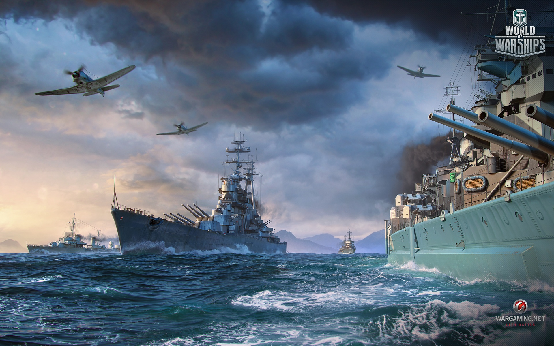World Of Warships Wallpaper: End Of Year Wallpaper Blowout