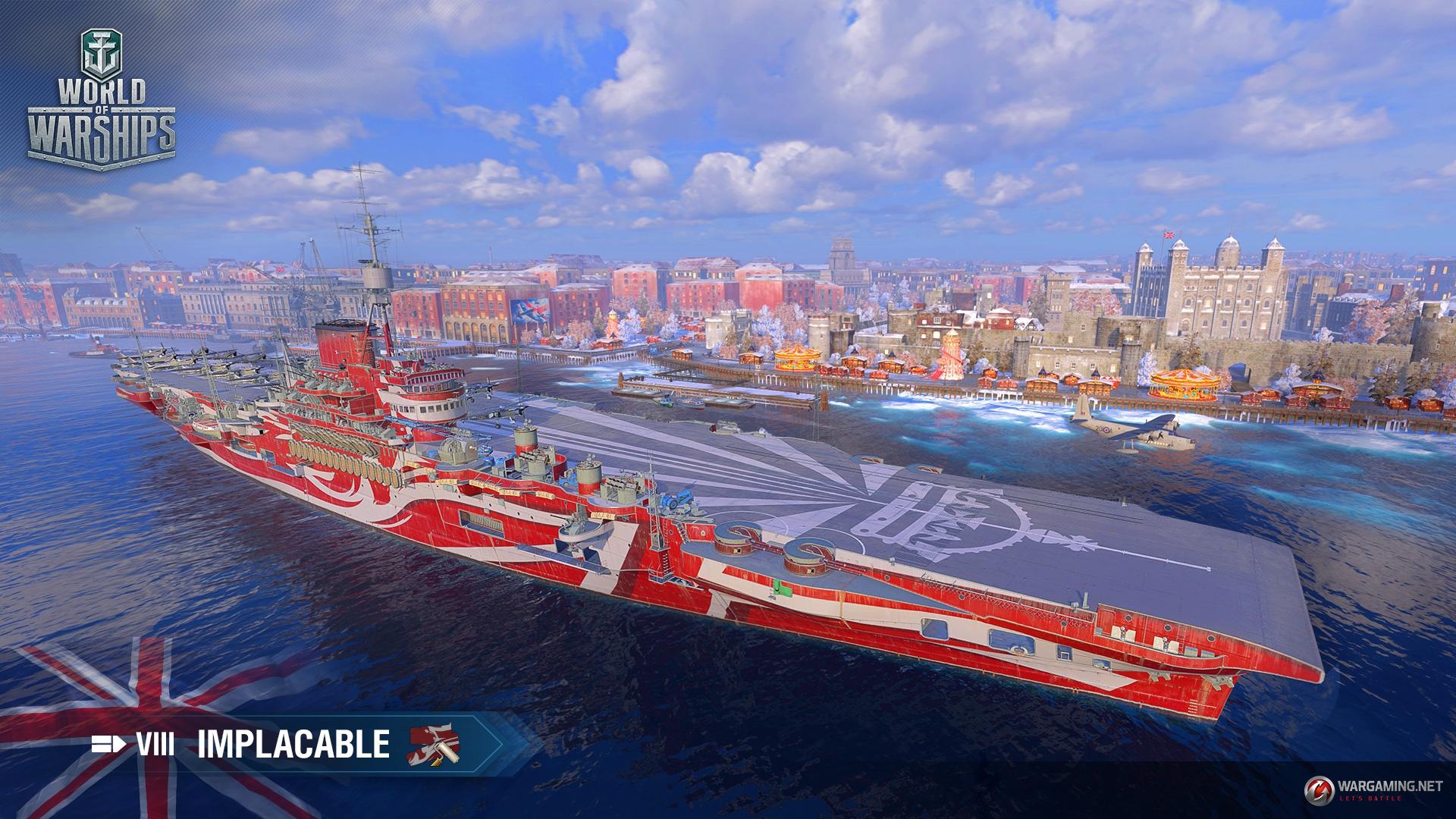 Update 0 8 1: British Squadrons | World of Warships