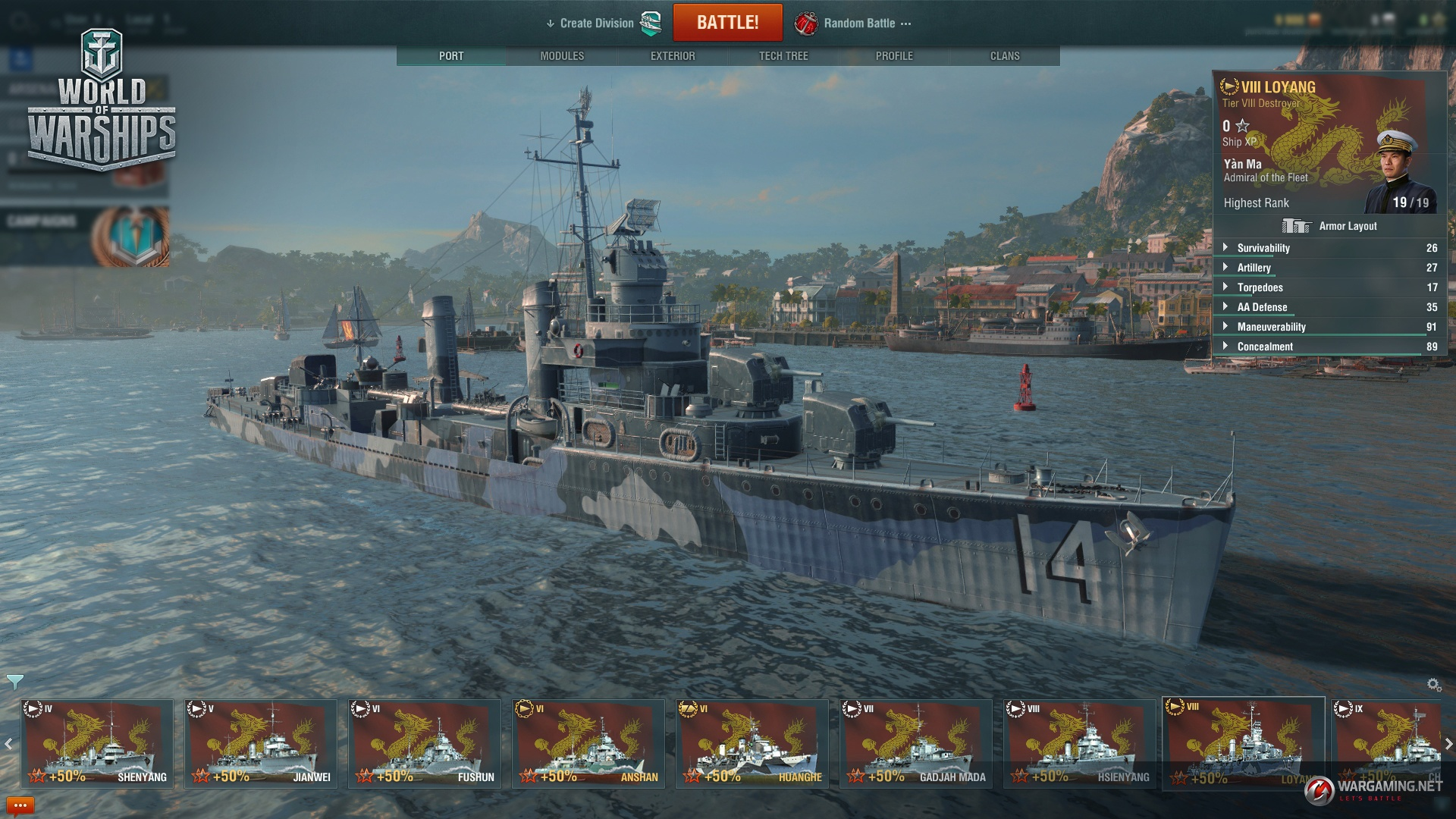 Update 0 7 10 2   World of Warships