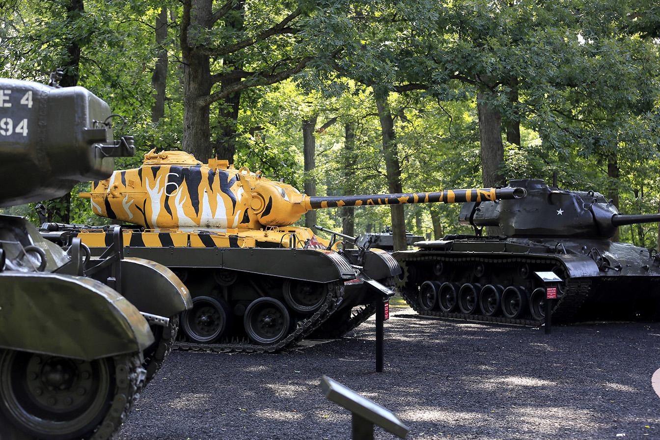 Tanks in Chicago