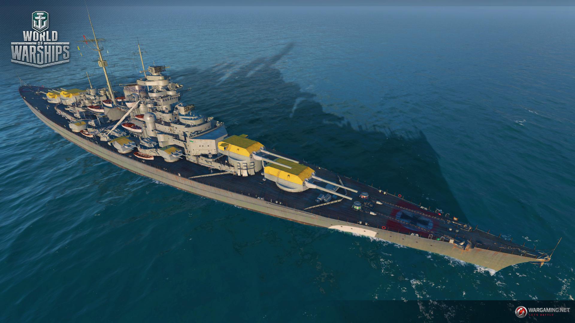The Hunt For Bismarck Begins World Of Warships