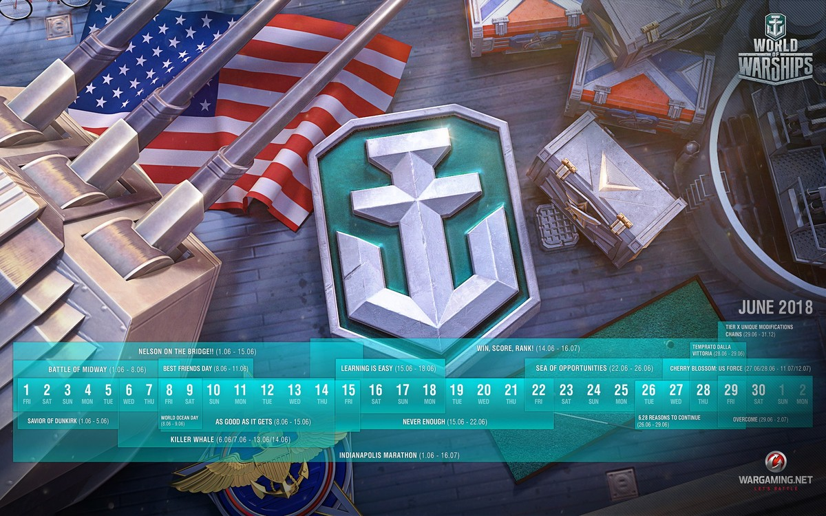 June Mission Briefing | World of Warships