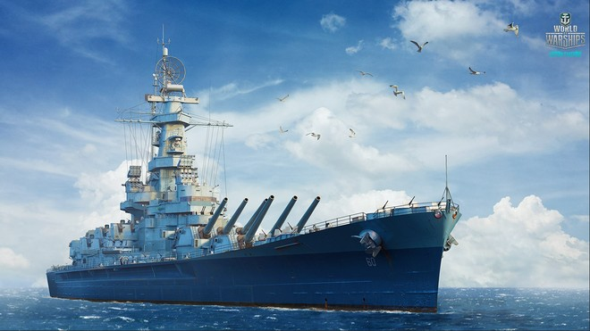 USS Alabama Wallpaper