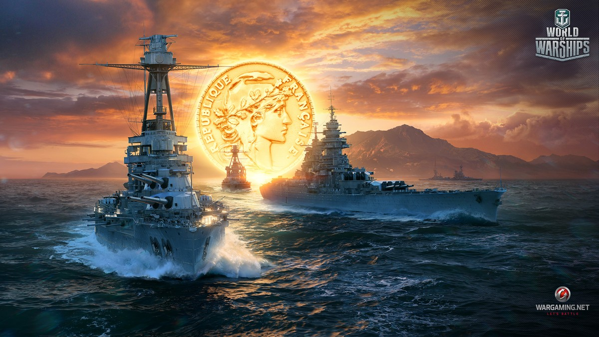 New Year S Decorations World Of Warships Wallpapers World Of