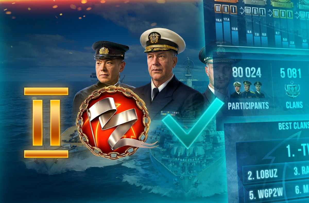 Clan Battles - Season 2 Results | World of Warships